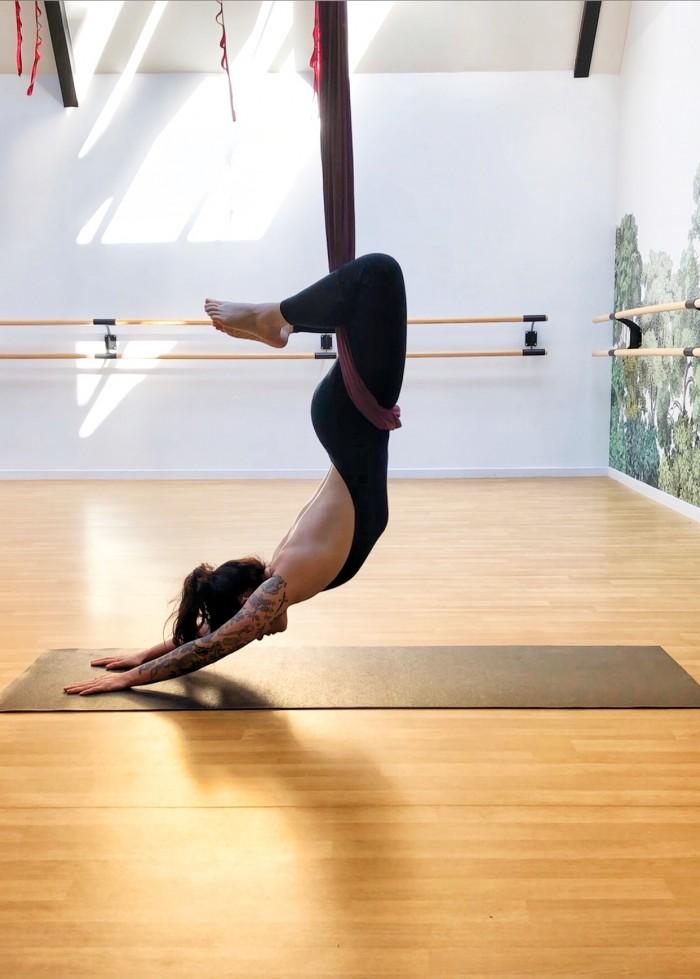 Cours de Aerial Restorative Yoga à Toulouse